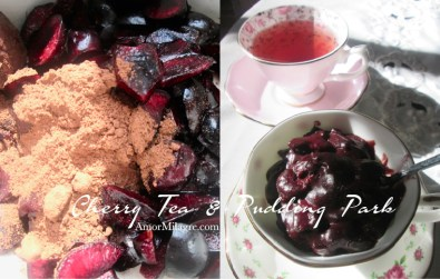 Amor Milagre Cherry Tea & Cacao Pudding Park Organic Vegan, Ethical Books, Royal Albert Teacups, Art & Design amormilagre.com