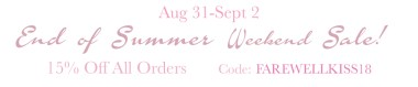 Amor Milagre SALE! Farewell Kiss End of Summer Weekend Sale 15% off 2018 The Shop at Dove Cottage Baby & Child Collection Art Design Organic Nursery Artwork amormilagre.com