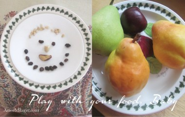 Amor Milagre Autumn Play with Your Food Baby & Toddler Snacks Art Design Organic Vegan natural children child club art class 2018 Collection amormilagre.com
