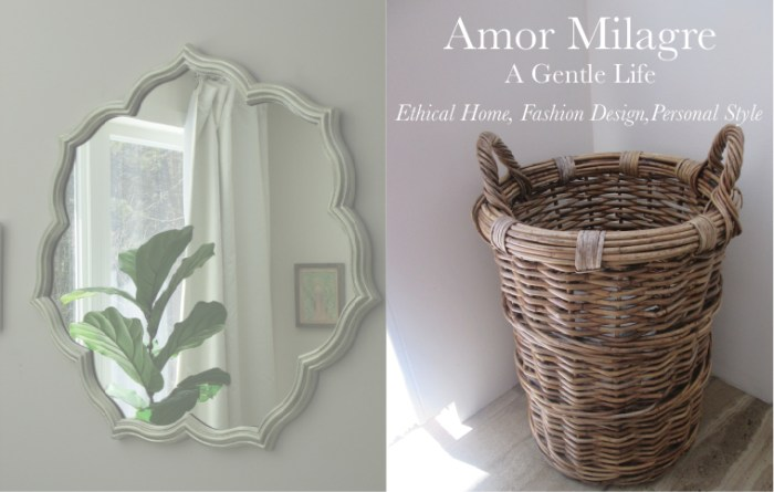 Amor Milagre A-Tisket A-Tasket Basket 2 Home Decor Interior Design Spring Ethical Organic Apparel Collection 2019 toddler Handmade Gift Shop Art Apparel Vegan Baby & Child Easter amormilagre.com