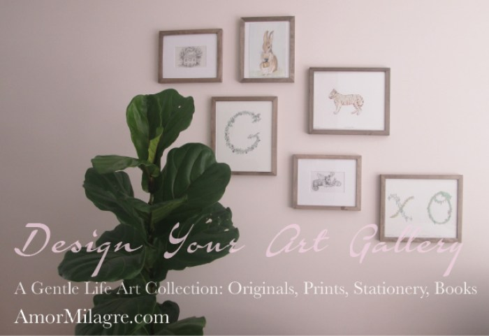 Amor Milagre Ethical Spring Collection 2019 Custom Design Art Gallery Organic Vegan Gifts Baby & Child amormilagre.com