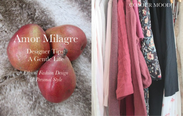 Amor Milagre Spring Fashion Personal Style 2019 colour mood Design apparel Ethical Handmade Gift Shop Art Apparel Organic Vegan Baby & Child red closet amormilagre.com