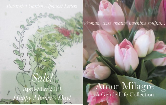 Amor Milagre 2019 Mother's Day Sale Spring Ethical Organic Gift Shop Handmade Gift Shop Art Vegan Baby & Child Woman feminist tulips illustrated letter art amormilagre.com