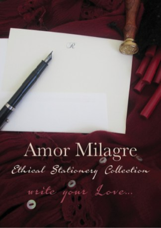 Amor Milagre Ethical Stationery Collection & Sets amormilagre.com Paperie personalized stationery