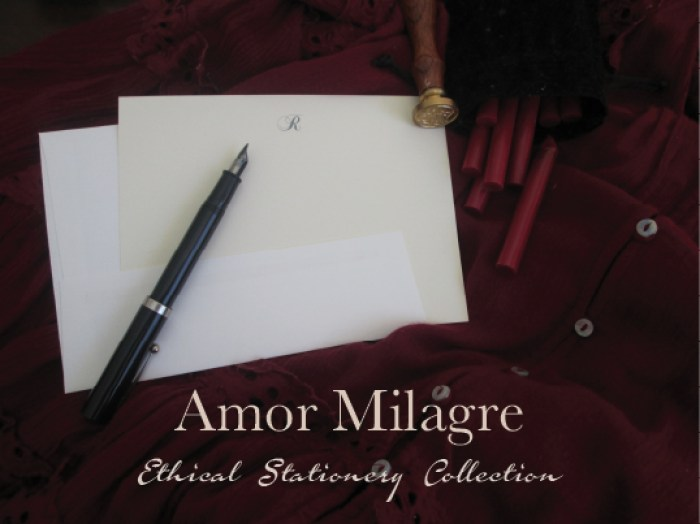 Amor Milagre Ethical Stationery Collection & Sets amormilagre.com Paperie write your Love letter