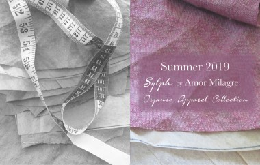 Amor Milagre Spring Fashion Personal Style 2019 Lilac Purple & black Sylph colour mood Ethical Handmade Apparel Collection Gift Shop Art Organic Women's amormilagre.com