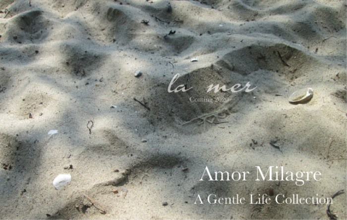 Amor Milagre La Mer Ocean Inspired Collection Winter Nursery Ethical Handmade Gift Shop Art Design Organic Baby & Child Woman Mermaid sand seashell sea amormilagre.com
