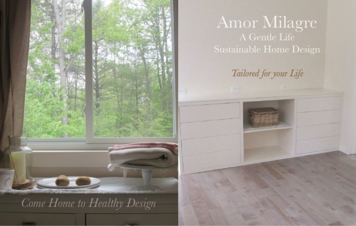 Amor Milagre Custom Built Home Interior Design Moments Goodnight, Dove Cottage 2019 Ethical Custom Kitchen Cabinets modern push drawers amormilagre.com