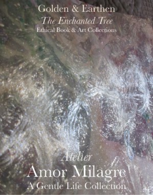 Amor Milagre Shop Golden Origin Tree Ancient 1 Golden & Earthen The Enchanted Tree New Children's Book & Art & Stationery Collection Autumn 2019 amormilagre.com