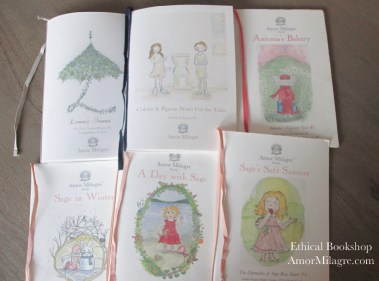 Amor Milagre Bookshop Loving Ethically Handmade Children's Book and Novels for all ages! amormilagre.com