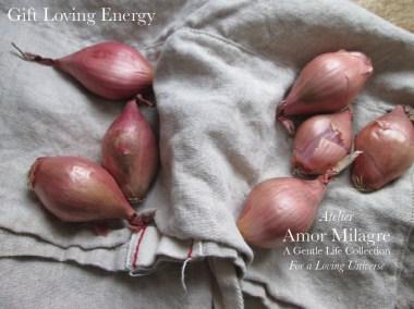 Amor Milagre I Love! Sweet Charity Valentine's Day Sale Atelier Art Books Ethical Gift Shop shallots, gift loving energy amormilagre.com