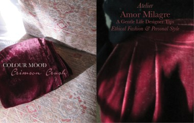 Amor Milagre I Love! Sweet Charity Valentine's Day Sale, Crimson Crush Colour Mood Fashion Personal Style 2020 Atelier Velvet Trousers amormilagre.com