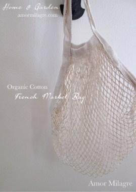 French Market Bag Groceries Plant-based Gardens Amor Milagre amormilagre.com 12
