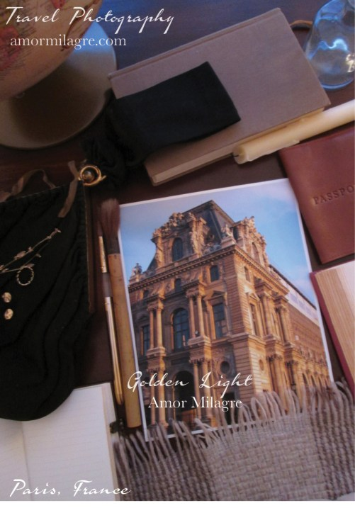 Amor Milagre Golden Light Building Paris France Travel Photography Art Prints Greeting Cards amormilagre.com 1