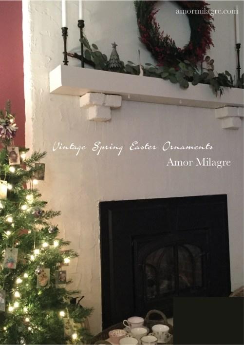 Amor Milagre Vintage Easter Spring Ornaments amormilagre.com 5