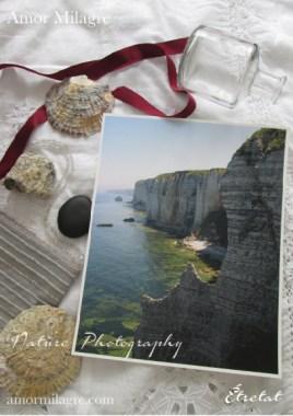 Étretat France Ocean Beach Cliffs Photography Art Print Amor Milagre amormilagre.com 1