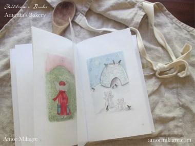 Amor Milagre Antonia's Bakery children's book amormilagre.com Book Release 1