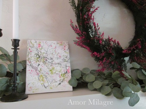 Amor Milagre Blossoming Tree #1 Spring Garden Oil Painting amormilagre.com 1