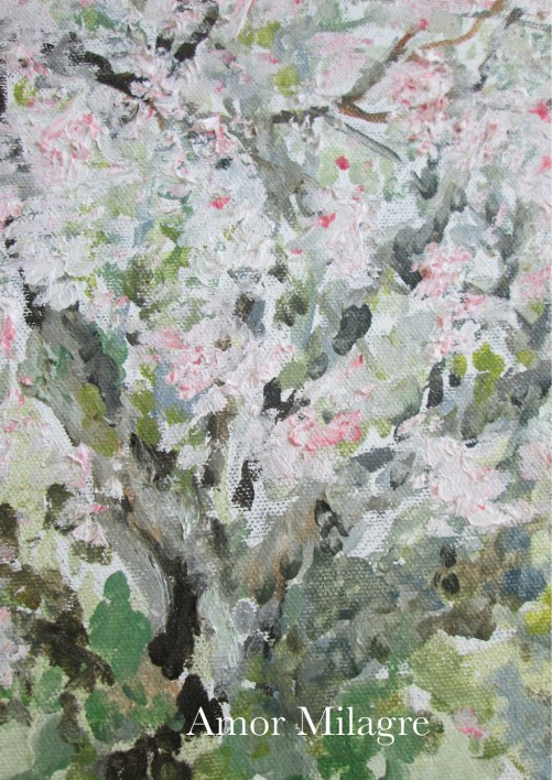 Amor Milagre Blossoming Tree #2 Spring Garden Oil Painting amormilagre.com 4