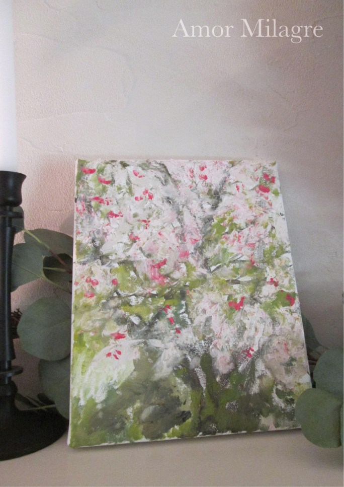 Amor Milagre Blossoming Tree #3 Spring Garden Oil Painting amormilagre.com 5