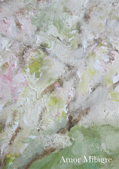Amor Milagre Blossoming Tree #4 Spring Garden Oil Painting amormilagre.com 6