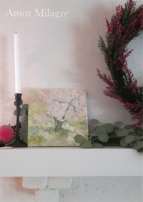 Amor Milagre Blossoming Tree #5 Spring Garden Oil Painting amormilagre.com 1