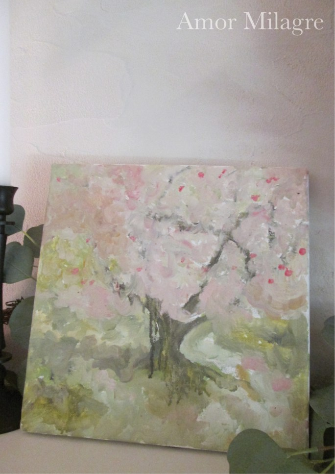 Amor Milagre Blossoming Tree #5 Spring Garden Oil Painting amormilagre.com 4