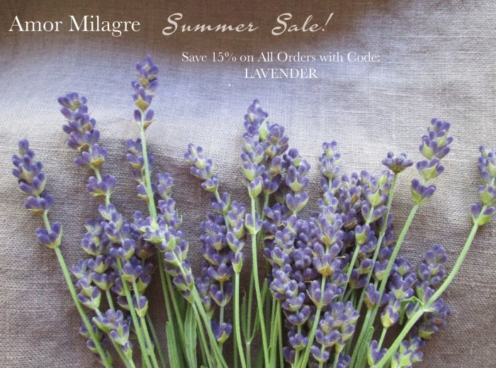 Summer Sale Lavender Collection by Amor Milagre Art, Design, Books Stationery