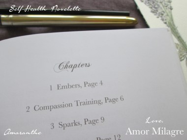 Amaranthe Novel by Amor Milagre Self-Health Book Lavender French NYC 5 amormilagre.com