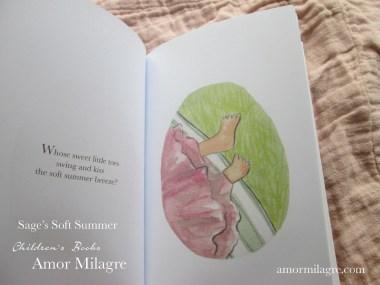 Amor Milagre Sage's Soft Summer children's book amormilagre.com 4