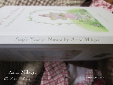 Amor Milagre Sage's Year in Nature Children's Book amormilagre.com 1