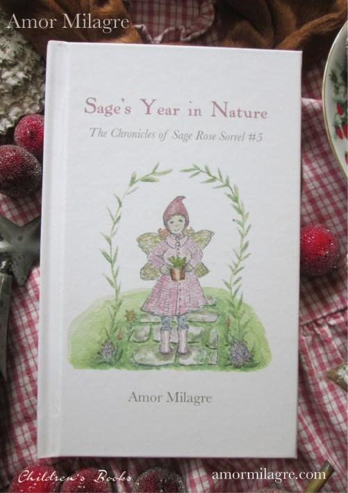 Amor Milagre Sage's Year in Nature Children's Book amormilagre.com 12