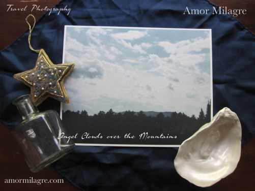 Amor Milagre Angel Clouds over the Mountains Sky Travel Photography Nature Art Print amormilagre.com 3