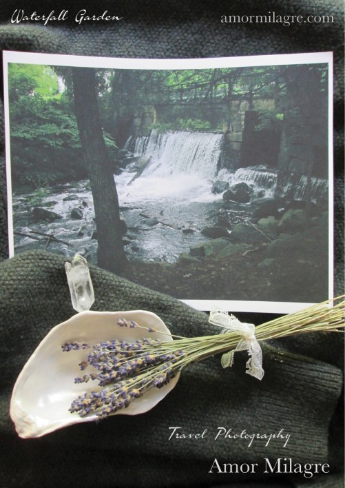 Amor Milagre Waterfall Garden Travel Photography Nature Art Print amormilagre.com 4