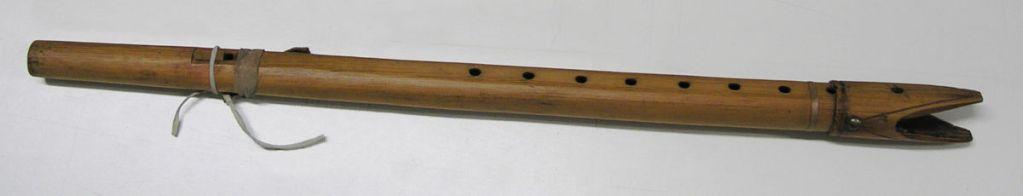 primera flauta nativa  conocida
