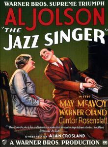 el cantor de jazz - bandas sonoras - primera película sonora
