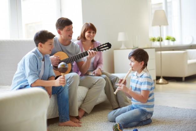 musicaterapia en familia