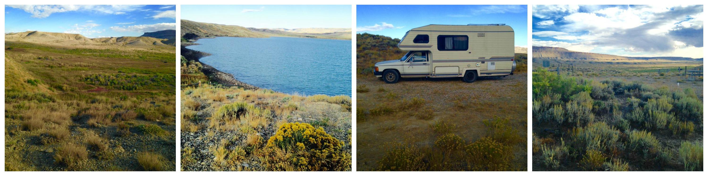 full orgie camping i Wyoming