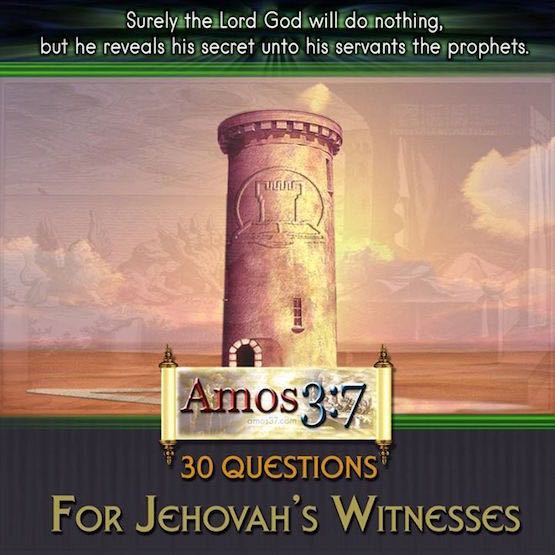 30 Questions for Jehovah Witness To Ponder | A love of The ...