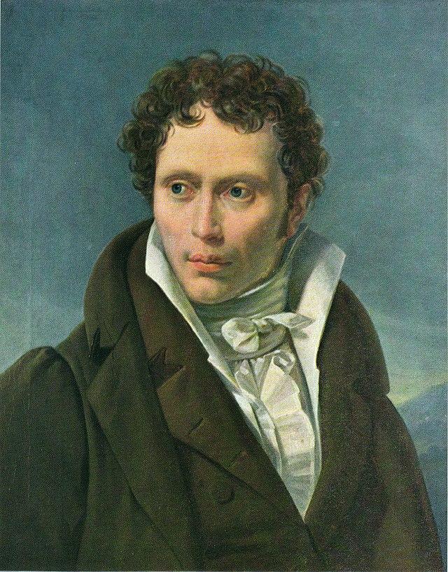 Arthur Schopenhauer Portrait by Ludwig Sigismund Ruhl 1815.jpeg
