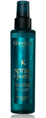 """When Kérastase PARIS introduced their first ever styling range two years ago with the iconically chamelon-like and every stunning Kate Moss fronting the ad campaigns, salons and stylists alike went into a frenzy, scooping up as many products from the collection as they could. To date, their Spray à Porter has emerged as one of the stars of the line (but let's face it: the entire collection truly delivers incredible results). Bumping other salt sprays from their cult favourite status, this divinely-scented and super fine, light mist creates the perfect tousled effect with zero stickiness, heaviness or residue, which revolutionized the """"ocean spray"""" product category entirely. Beautifully undone texture is achieved, and flexible hold means the style lasts all day (and night!) long. Thanks, Ms. Moss!"""