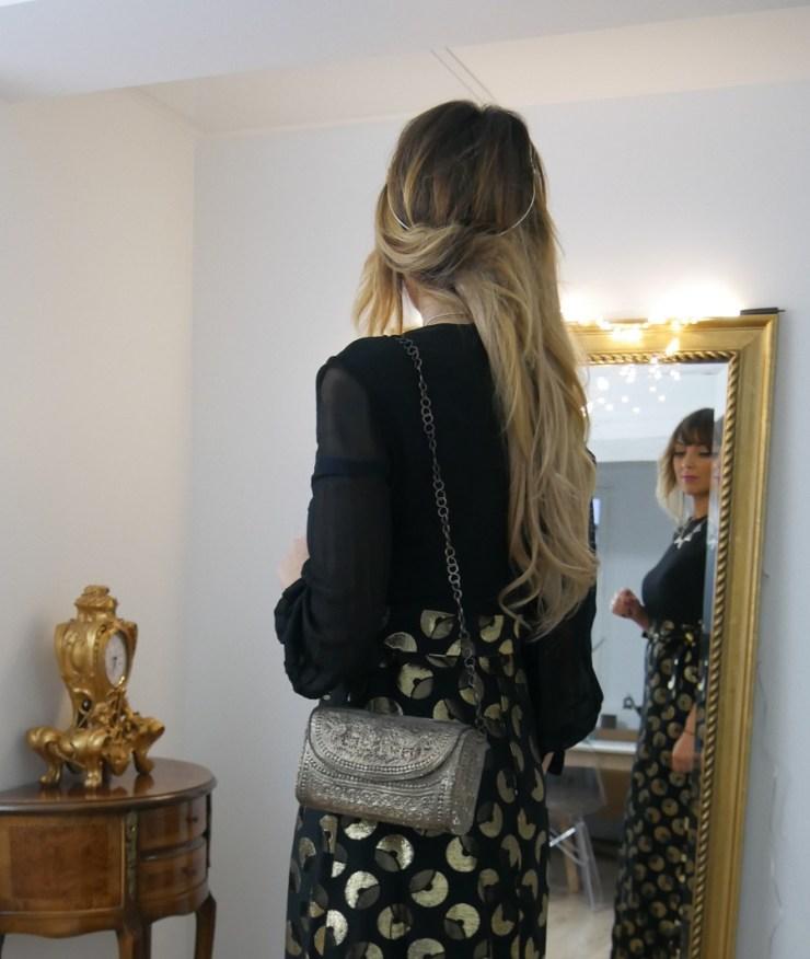 amoublogetbeaute cheveux tenue Noël Aurora