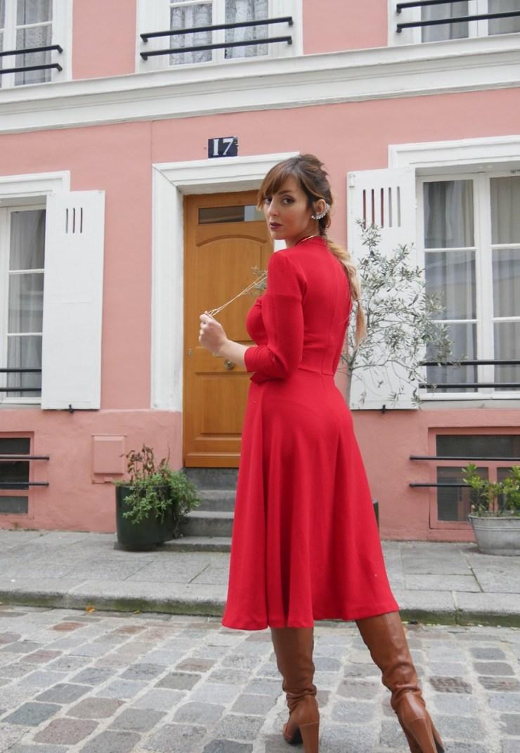 amourblogetbeaute robe rouge Zara Aurora