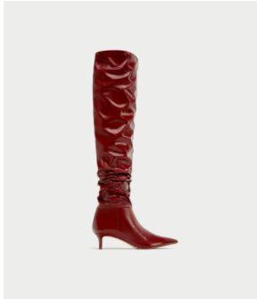 Amourblogetbeaute-comment-porter-les-bottes-rouges-Zara