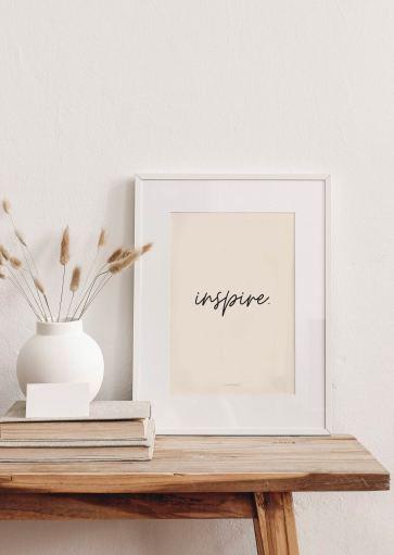 Affiche Inspire à imprimer