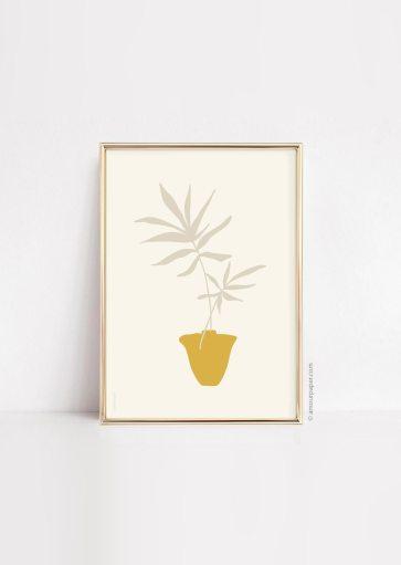 Affiche Plante vase à imprimer
