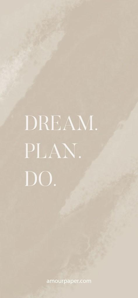 fond ecran dream plan do iphone 8