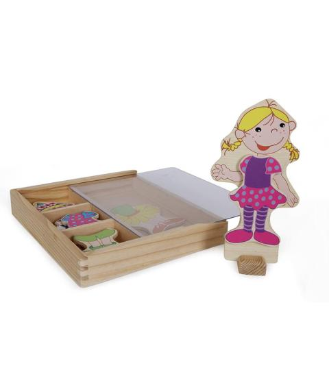 Magnetic Game Dress-up Doll Ramona