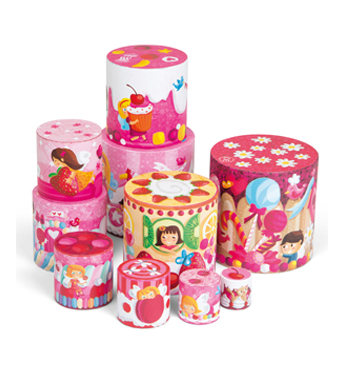 Delicacies Round Stacking Pyramid
