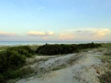 midbeach dunes, ocean, clouds - Jekyll Island